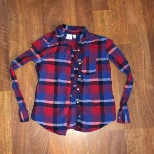 bp Red and Blue Flannel